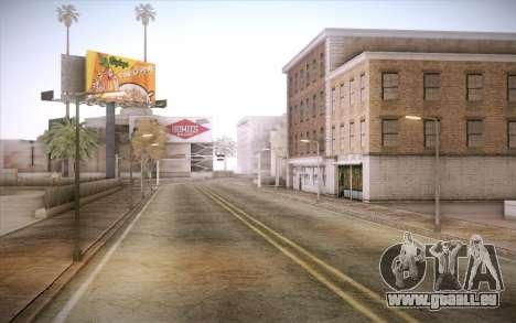No traffic pour GTA San Andreas deuxième écran