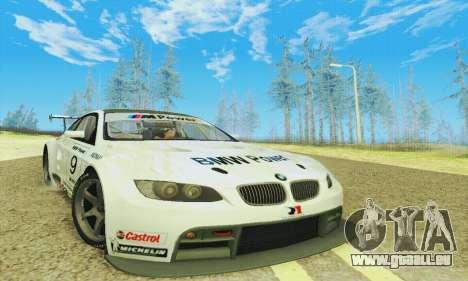 BMW M3 GT2 E92 ALMS pour GTA San Andreas