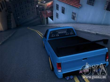 Mitsubishi Cyclone pour GTA San Andreas roue
