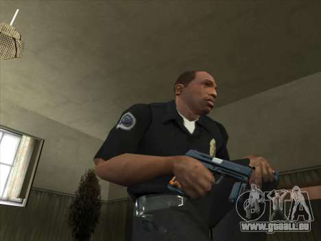 Armes de Pak intérieur pour GTA San Andreas deuxième écran