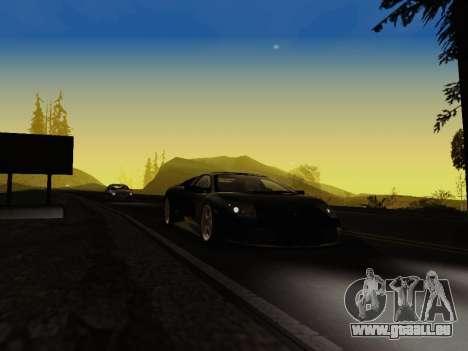 SA_RaptorX v1. 0 für schwache PC für GTA San Andreas neunten Screenshot
