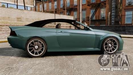 GTA V Zion XS Cabrio pour GTA 4 est une gauche