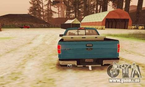 Ford F150 XLT Supercrew Trim pour GTA San Andreas vue de côté