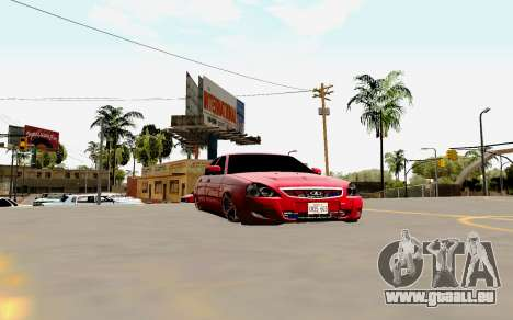 Lada 2170 Priora Suite für GTA San Andreas Motor