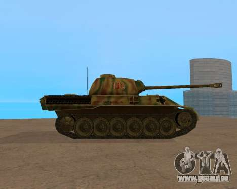 pz.kpfw v Panther pour GTA San Andreas vue de droite