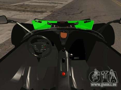 KTM Xbow R für GTA San Andreas Rückansicht