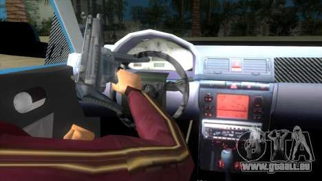 Seat Ibiza GT pour GTA Vice City sur la vue arrière gauche