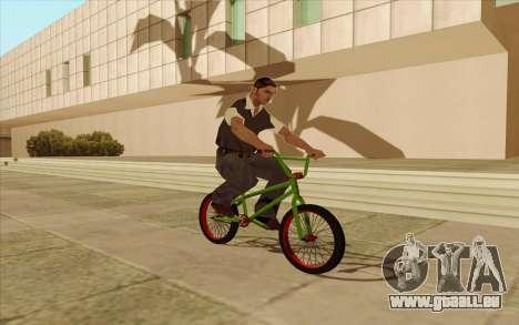 BMX pour GTA San Andreas vue arrière