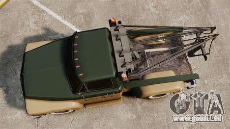 Towtruck Restored für GTA 4 rechte Ansicht