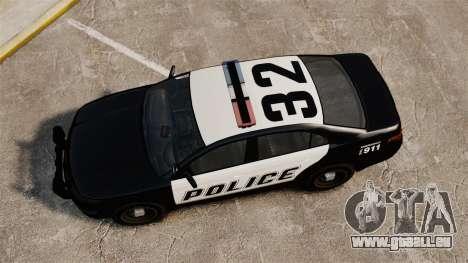 GTA V Vapid Police Interceptor [ELS] für GTA 4 rechte Ansicht