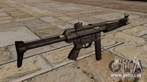 MP5 Maschinenpistole für GTA 4 Sekunden Bildschirm