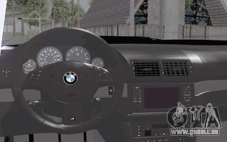 BMW M5 Street pour GTA San Andreas vue de droite
