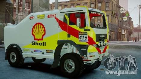 MAN TGA Dakar Truck Shell pour GTA 4