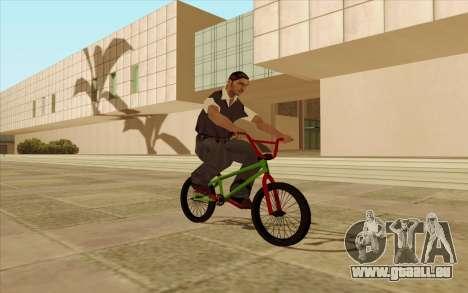 BMX pour GTA San Andreas roue
