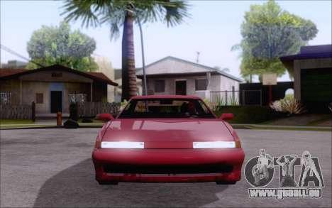 Uranus Fix pour GTA San Andreas sur la vue arrière gauche