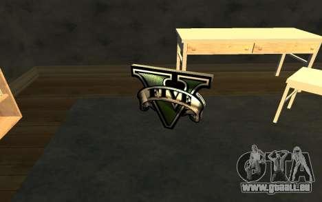 GTA V Save Icon pour GTA San Andreas deuxième écran