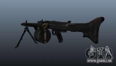 Usage général Mitrailleuse MG-3 pour GTA 4 secondes d'écran