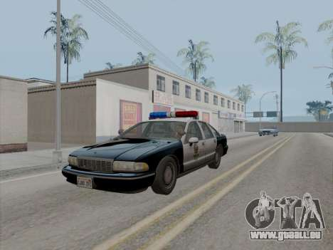 Chevrolet Caprice LAPD 1991 [V2] für GTA San Andreas