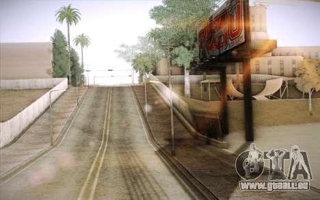 No traffic pour GTA San Andreas troisième écran