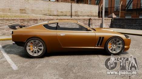 Super GT Ultra für GTA 4 linke Ansicht