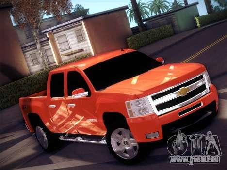 Chevrolet Cheyenne LT 2008 pour GTA San Andreas