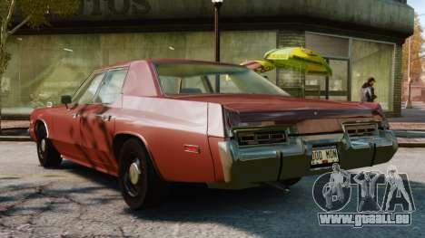 Dodge Monaco 1974 pour GTA 4 est une gauche