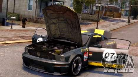 Shelby Terlingua Mustang für GTA 4 Innen