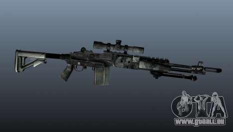 Scharfschützengewehr M21 Mk14 v3 für GTA 4 dritte Screenshot
