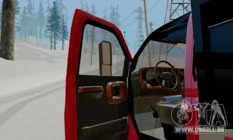 GMC C4500 Topkick pour GTA San Andreas vue arrière