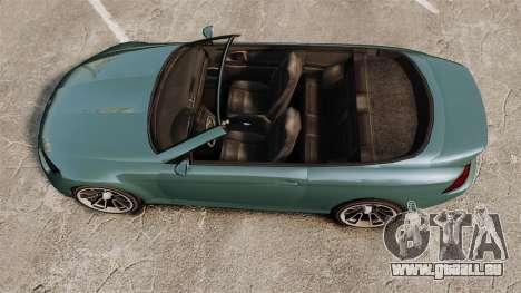 GTA V Zion XS Cabrio für GTA 4 rechte Ansicht