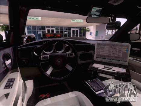 Dodge Charger San Andreas State Trooper pour GTA San Andreas moteur