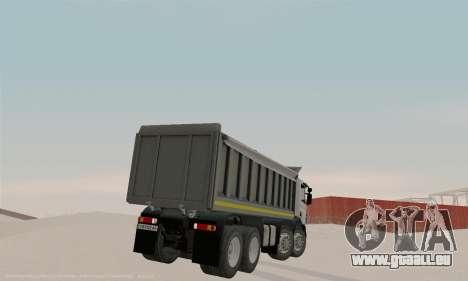 Scania P420 pour GTA San Andreas vue de droite