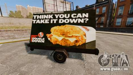Neue Werbetafeln auf Rädern für GTA 4