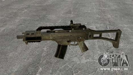 Assault Rifle G36C pour GTA 4 troisième écran