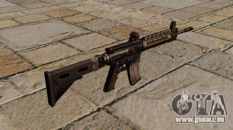 Le fusil d'assaut LR-300 pour GTA 4 secondes d'écran