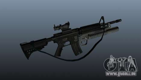 Automatische Carbine M4A1 v2 für GTA 4 dritte Screenshot