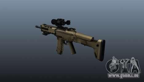 Fusil d'assaut Magpul Masada pour GTA 4 secondes d'écran