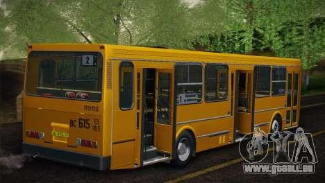 LIAZ 5256.00 Skin-Pack 5 pour GTA San Andreas vue arrière