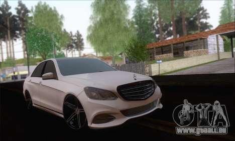 Mercedes-Benz W212 AMG für GTA San Andreas