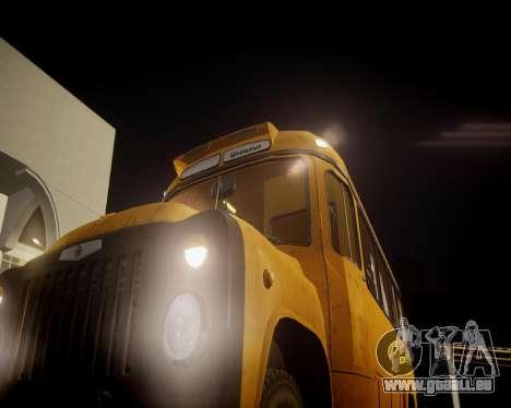 École Kavz-685 pour GTA 4 Vue arrière