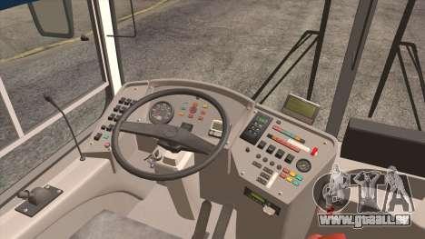 LIAZ 5256.57 2007 pour GTA San Andreas vue intérieure