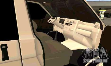 Volkswagen T4 für GTA San Andreas rechten Ansicht