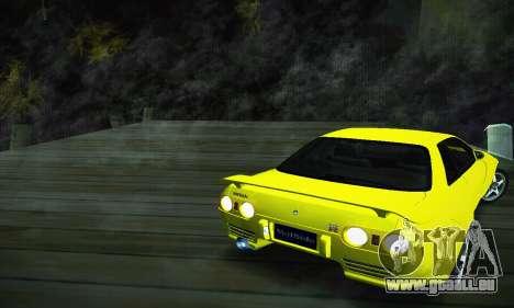 Nissan Skyline R32 GT-R pour GTA San Andreas laissé vue
