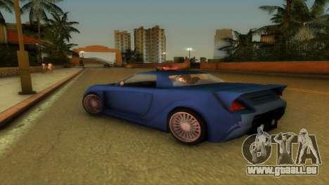 Toyota MR-S Veilside Hardtop für GTA Vice City Rückansicht
