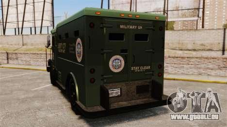 Military Enforcer pour GTA 4 Vue arrière de la gauche
