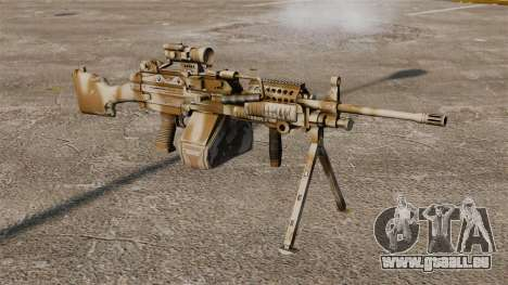 Lumière mitrailleuse Mk 48 pour GTA 4
