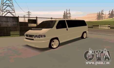Volkswagen T4 für GTA San Andreas