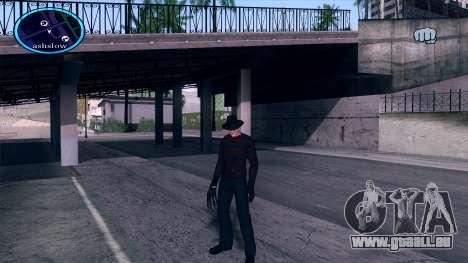 Freddy Krueger pour GTA San Andreas