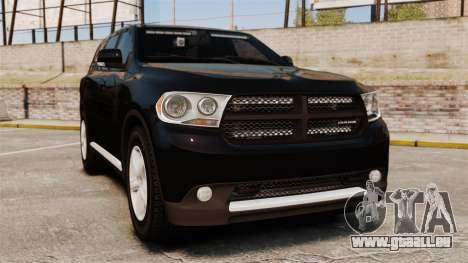 Dodge Durango 2013 Sheriff [ELS] pour GTA 4