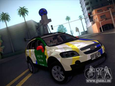 Chevrolet Google Street View Chile für GTA San Andreas